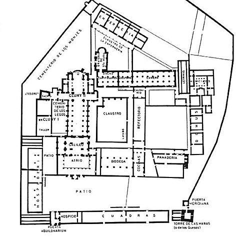 Abadia de Cluny II. (954-1080). (orden Benedictina).