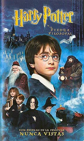 Harry Potter y La Piedra Filosofal del papel a película