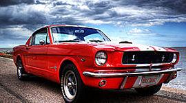 La historia del Ford Mustang timeline