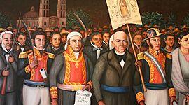 Personajes de la Independencia timeline