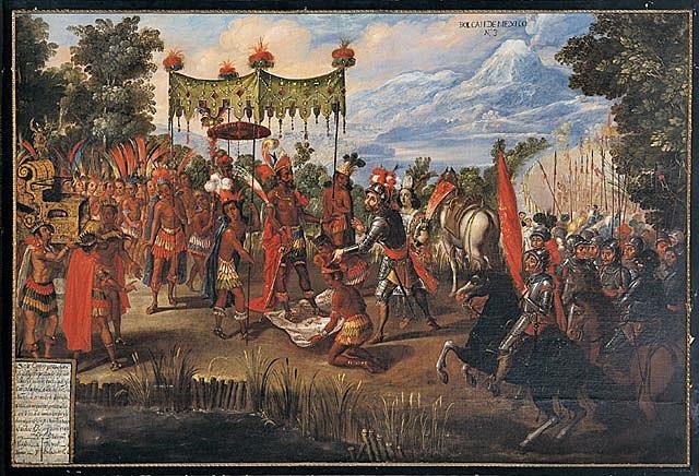 Spanish conquest of the Aztecs