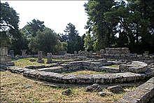 GRECIA. Bouleuteurión de Olimpia
