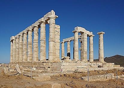 GRECIA. Templo de Poseidón en Sounion
