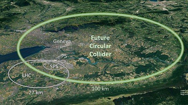 First proton-antiproton collision