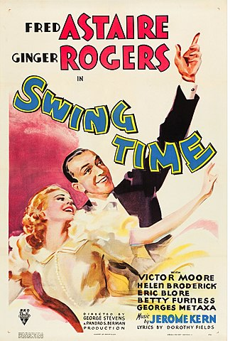 Swing Time. - Película.