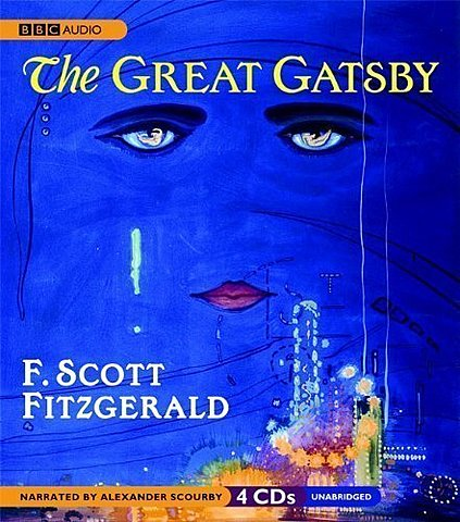 The Great Gatsby published by F. Scott Fitzgerald