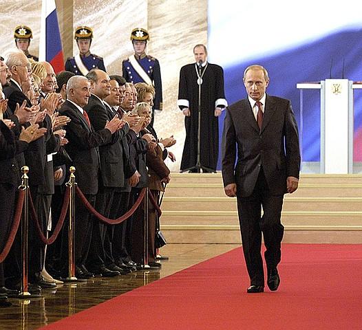 Избран Президентом РФ на второй срок