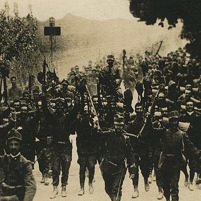 Italia prima e durante la prima guerra mondiale timeline