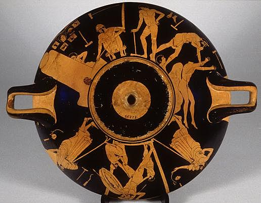Bronzestøberens navnekop 490-480