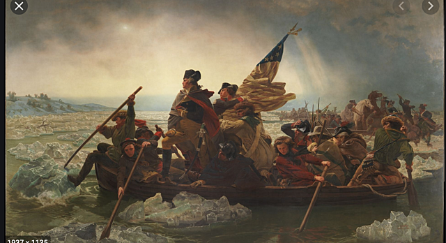 Washington Crosses the Delaware