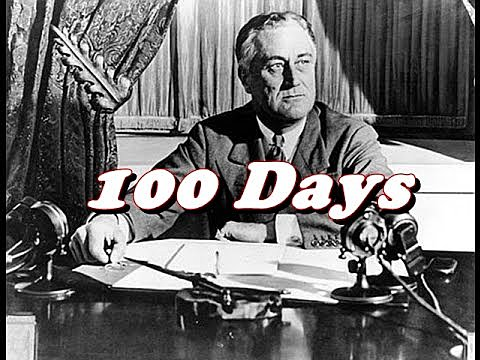 """On this, the final day of FDR's """"Hundred Days,"""" Congress passes a number of bills."""