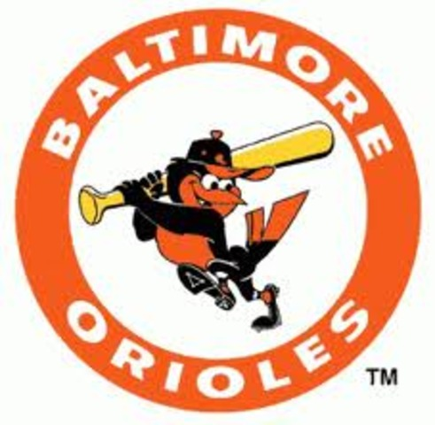 Signed to the Orioles