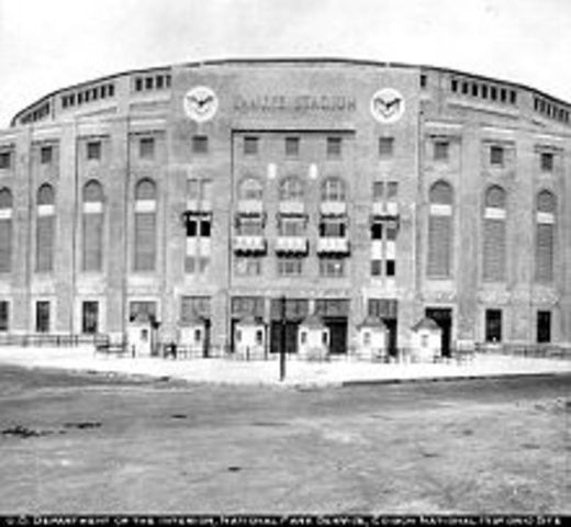Last appearence at Yankee Stadium
