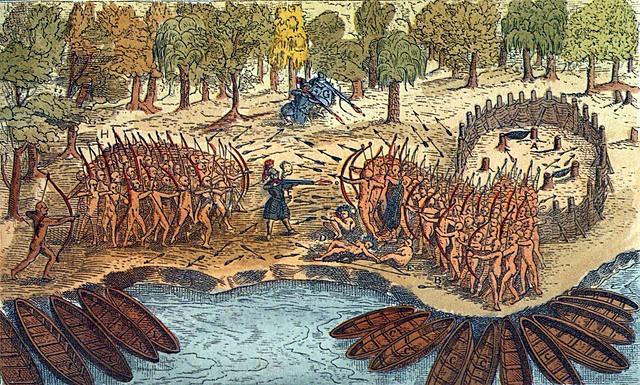 alliance avec les huron et les batailles de ticonderoga