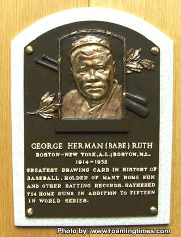 Honored for Cooperstown, Hall of Fame