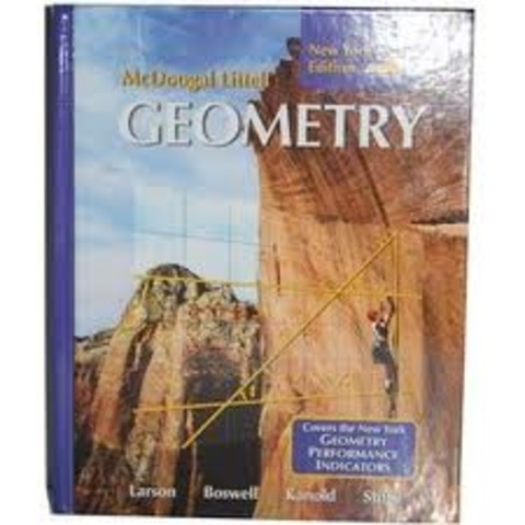 He discovered his first geometry book