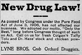 Food and Drugs Act