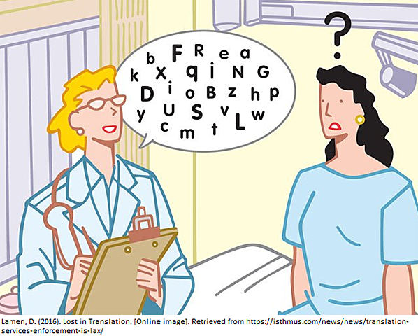 The use of linguistics within the medical field was not as important.