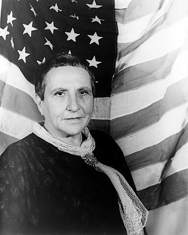 Gertrude Stein. (1874-1946).