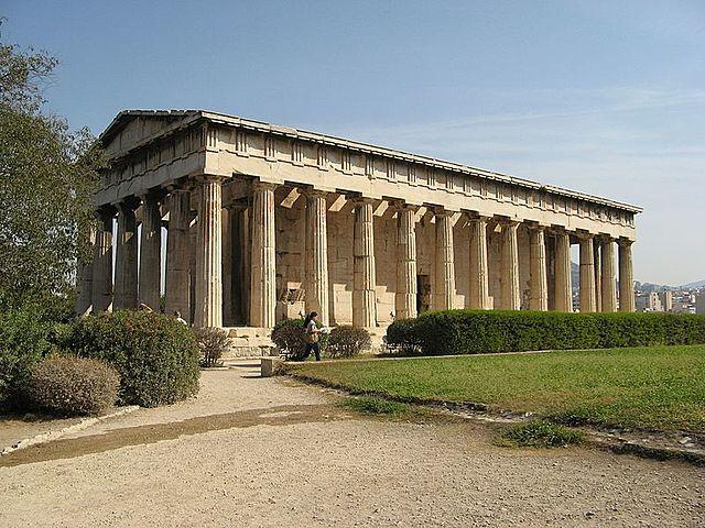 Hephaestus Tempel, Athen 416-415