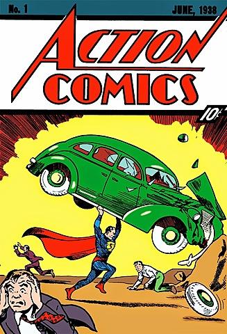 1. Action Comics n1 El primer cómic de Superman