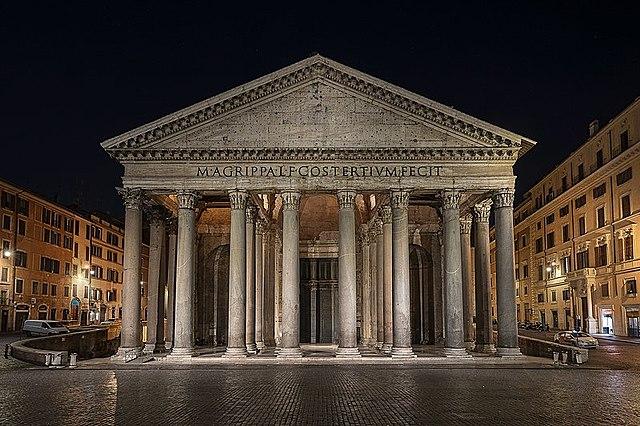 Pantheon, Rom 113-125