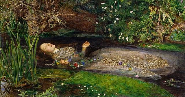 Ofelia - John Everett Millais