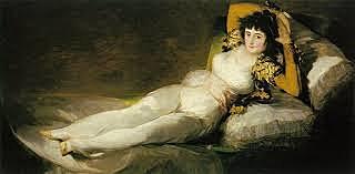 La maja desnuda, de Goya