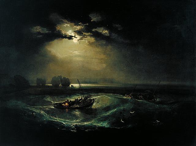 Fishermen at Sea - J. M. W. Turner