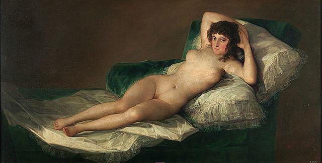 7. La maja desnuda (Goya)