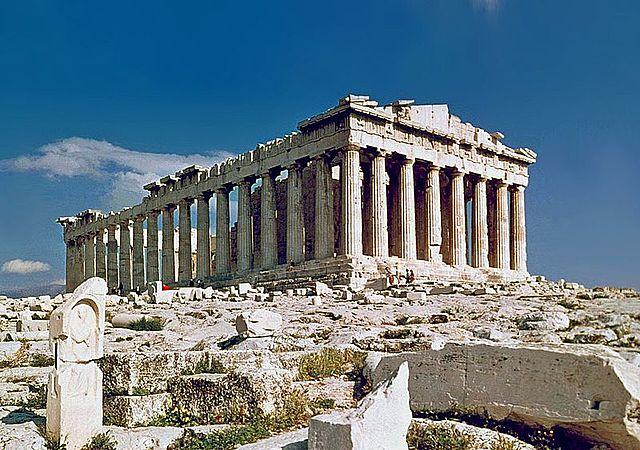 Parthenon Tempel 447-432