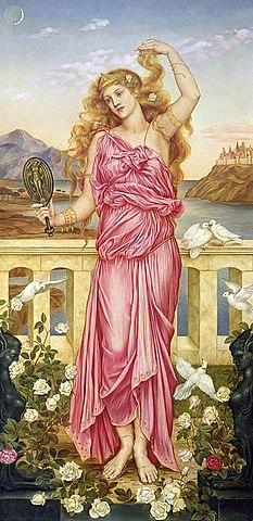 Helen of Troy - Evelyn de Morgan