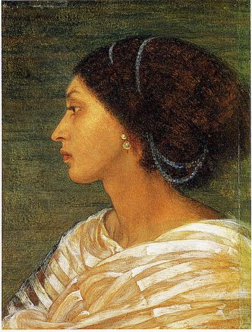 Head of Mrs. Eaton / Fanny Eaton - Joanna Mary Boyce