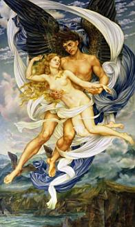 Boreas and Oreithyiad'Evelyn de Morgan