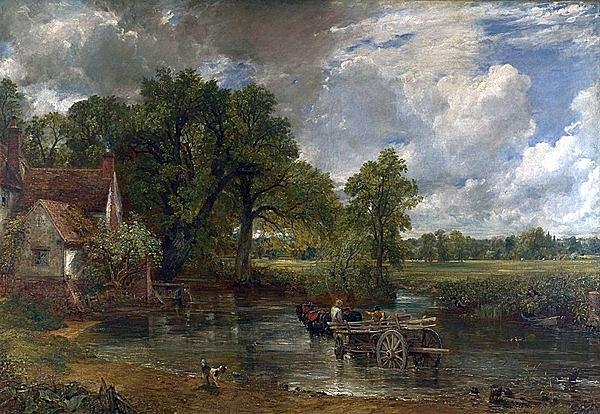 10. John Constable (La carretera de Heno)