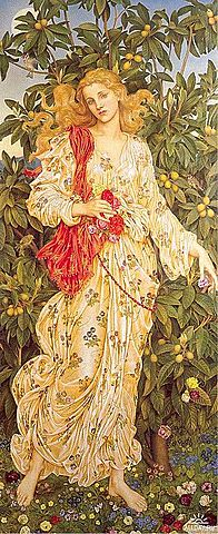 Flora de Evelyn de Morgan