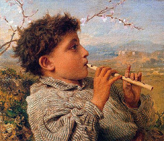 La flauta del pastor