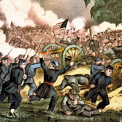 Major Events of the Civil War timeline