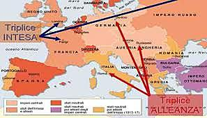 Europa divisa in due