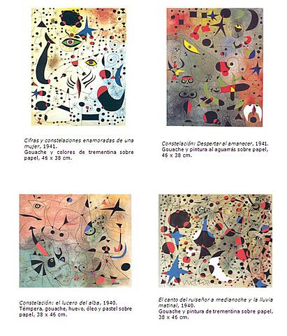 Serie Constelaciones