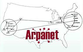 ARPANET primera red que conecta cuatro ordenadores