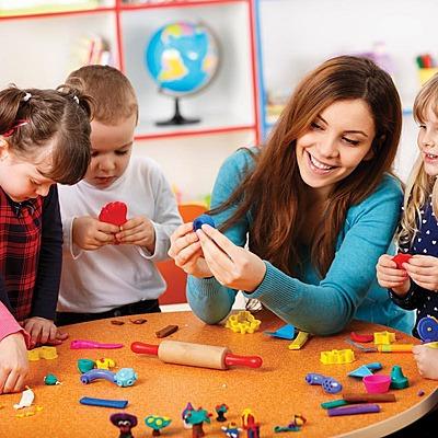 Дошкольное образование в разные периоды  timeline
