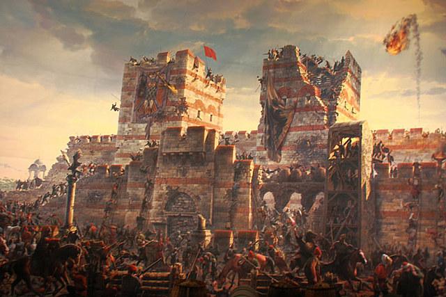 Constantinopla por los turcos