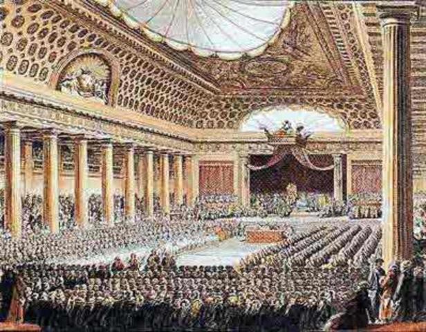 A reunião dos Estados Gerais e a rebelação do Terceiro Estado