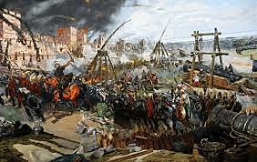 Constantinopla por los turcos en 1453  d.C