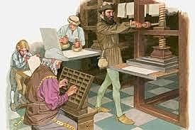 La invención de la imprenta de Gutenberg