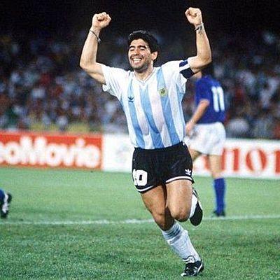 Maradona timeline