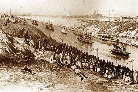 Canale di Suez, progetto di un ingegnere italiano