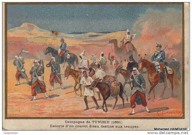 Occupazione francese in Tunisia