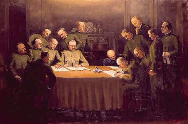 L'armistizio di Villa GIusti: la fine della guerra mondiale per l'Italia